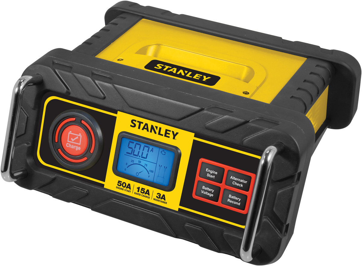 STANLEY 15 Amp Battery Charger with 50 Amp Engine Start (BC50BS)