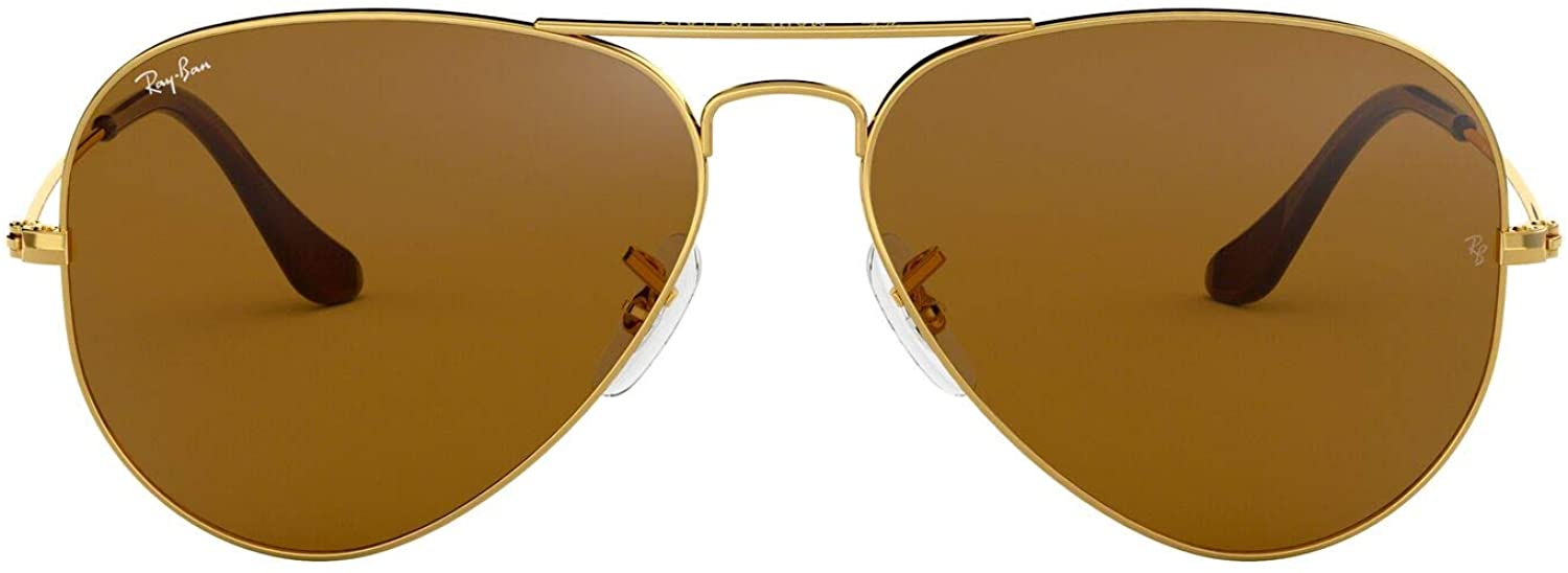 Ray-Ban Rb3025 Aviator Classic Sunglasses - Gold/Brown