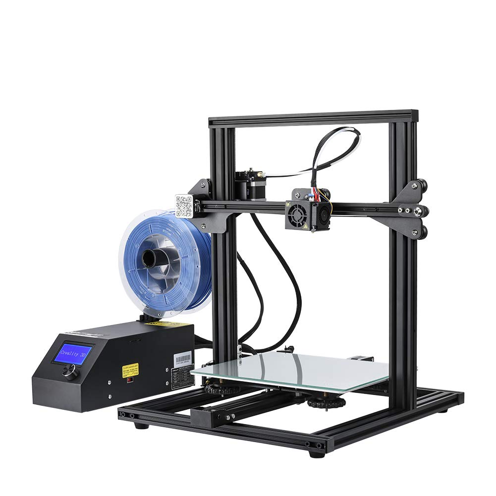 Creality 3D Printer CR-10 Mini 3D Aluminum DIY Printer with Resume Print Open Source Large Print Size 300x220x300mm 60% Pre-Assembled