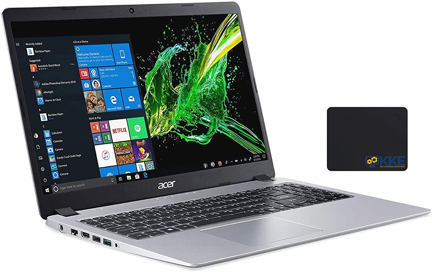 "Acer Aspire 5 - Slim High Performance Laptop, 15.6"" Full HD Screen, Newest AMD Ryzen 7 Processor, 16GB RAM, 512GB SSD+1TB HDD, Win10, Silver"