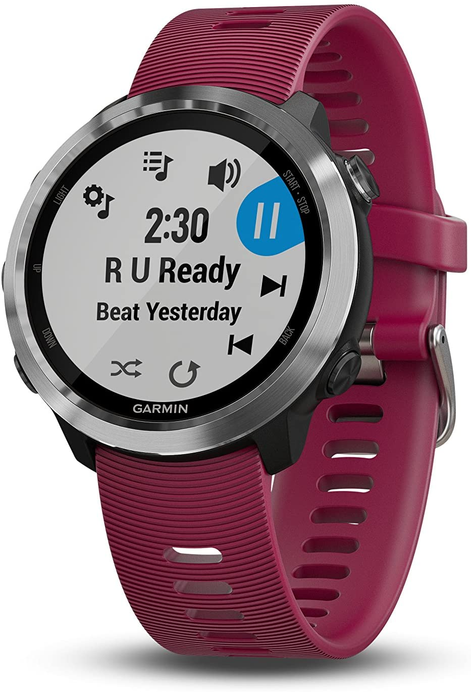 Garmin Forerunner 645 Music, Gps Running Watch with Pay Contactless Payments, Wrist-based Heart Rate and Music, Cerise