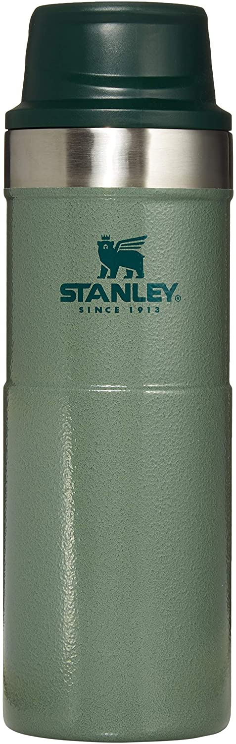 Stanley Classic Trigger Action Travel Mug 20 oz. - Hammertone Green