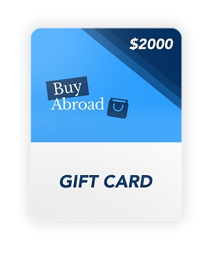 $2000 Gift Card