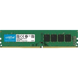 Crucial 8GB Single DDR4 3200 MT/s (PC4-25600) CL22 SR x8 Unbuffered DIMM 288-Pin Memory - CT8G4DFS832A
