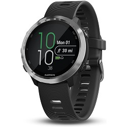Garmin 010-01863-00 Forerunner 645, GPS Running Watch with Pay Contactless Payments and Wrist-Based Heart Rate, Black, 1.2'